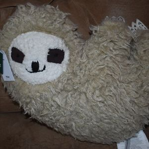 Urban Outfitters Sloth Throw Pillow UO Home New